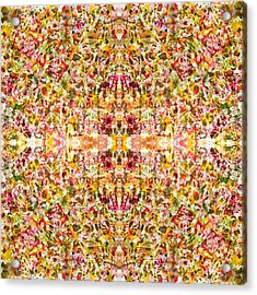 Psychedelic Story Acrylic Print by Sumit Mehndiratta