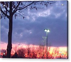 Acrylic Print featuring the photograph Psychedelic Sunset by Lyric Lucas