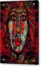 Psychic Acrylic Print by Natalie Holland