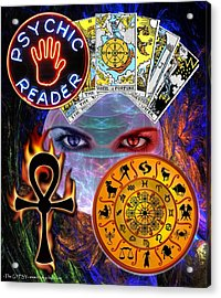 Psychic Reader Acrylic Print