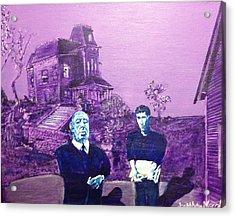 Psycho Set Acrylic Print