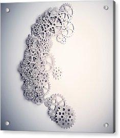 Psychology Acrylic Print by Andrzej Wojcicki