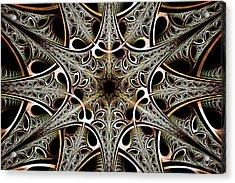 Psychotronic Revolution Acrylic Print by Anastasiya Malakhova