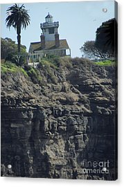 Pt. Fermin Lighthouse Acrylic Print by Bonnie Muir