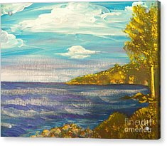 Ptg   Highview Point  Ny Acrylic Print by Judy Via-Wolff