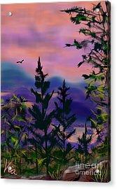 ptg.  Mount Baker View Acrylic Print