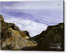 ptg.  Sutrose Cliffs California Acrylic Print