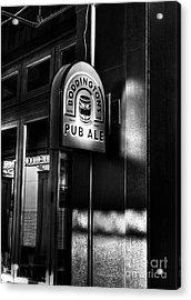 Pub Ale Acrylic Print