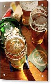 Pub Table Acrylic Print