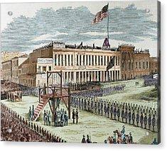 Public Execution Of Murderers Joseph Acrylic Print
