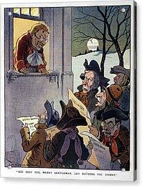 Puck Cartoon, 1907 Acrylic Print by Granger