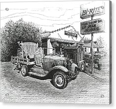 Puckett's Grocery And Restuarant Acrylic Print by Janet King