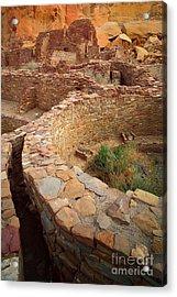 Pueblo Bonito Acrylic Print