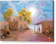 Pueblo De Las Lunas Acrylic Print