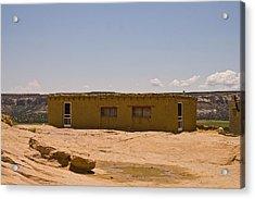 Pueblo Home Acrylic Print