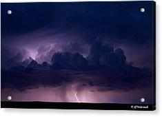 Pueblo Lightning Acrylic Print