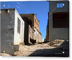 Acrylic Print featuring the photograph Pueblo Pathway by Debby Pueschel