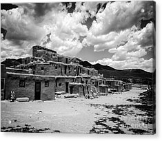 Pueblo Skies Acrylic Print by William Wyckoff