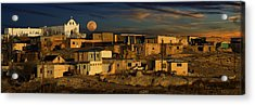 Acrylic Print featuring the photograph Pueblo Sunrise by Wendell Thompson