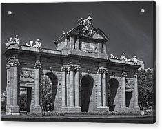 Puerta De Alcala Acrylic Print by Susan Candelario