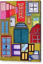 Puertas Acrylic Print