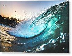 Puerto Aura Acrylic Print by Evan Conway