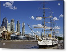 Puerto Madero Buenos Aires Acrylic Print