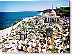 Puerto Rican Cemetery Acrylic Print