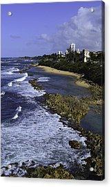 Puerto Rico Coastline Acrylic Print