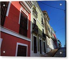 Puerto Rico - Old San Juan 007 Acrylic Print by Lance Vaughn