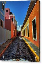 Puerto Rico - Old San Juan 009 Acrylic Print by Lance Vaughn