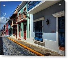Puerto Rico - Old San Juan 010 Acrylic Print by Lance Vaughn