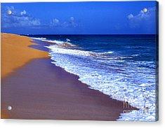 Puerto Rico Seascape Acrylic Print by Thomas R Fletcher