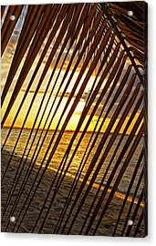 Puerto Rico Sunset 2 Acrylic Print by Stephen Anderson