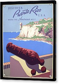 Puerto Rico Usa Acrylic Print by Unknown