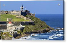 Puerto San Juan Light Ocean View Acrylic Print