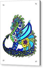 Puff The Magic Dragon Acrylic Print