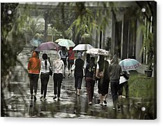 Pulang Bareng Acrylic Print by Achmad Bachtiar