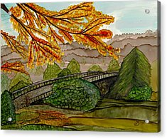 Pullen Park Perspectives Acrylic Print