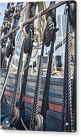 Pulley And Stay Acrylic Print