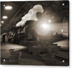 Pulling Out 2 Acrylic Print by Mike McGlothlen