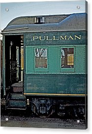 Acrylic Print featuring the photograph Pullman by Cheri Randolph