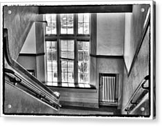 Pullman High School - A Blast From The Past Acrylic Print by David Patterson