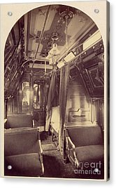 Pullman Palace Sleeping Car 1870 Acrylic Print by Getty Research Institute