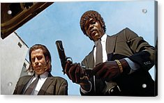 Pulp Fiction Artwork 1 Acrylic Print by Sheraz A