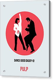 Pulp Fiction Poster 5 Acrylic Print