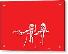 Pulp Wars Acrylic Print by Patrick Charbonneau