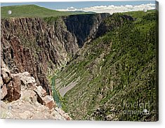 Pulpit Rock Overlook Black Canyon Of The Gunnison Acrylic Print
