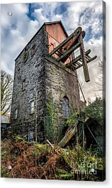 Pump House Acrylic Print by Adrian Evans