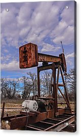 Pump Jack Acrylic Print by Kelly Kitchens